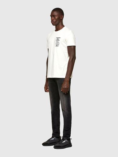 Diesel - T-DORYMO-A1, Blanco - Camisetas - Image 5