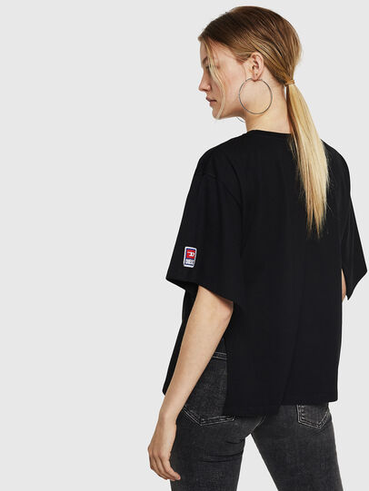 Diesel - T-JACKY-I, Negro - Camisetas - Image 2