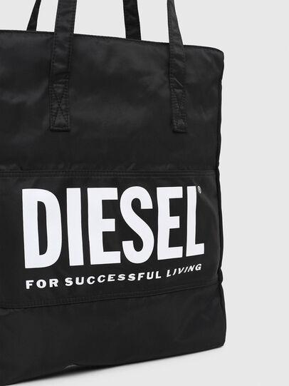 Diesel - BBAG-TOTE, Negro - Accesorios de playa - Image 5