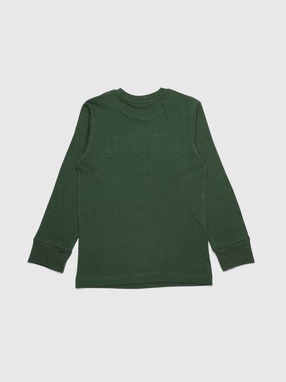 Diesel - TJUSTDIVISION ML, Verde Oscuro - Camisetas y Tops - Image 2