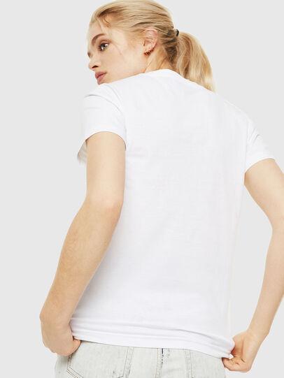 Diesel - T-SILY-WQ, Blanco - Camisetas - Image 2