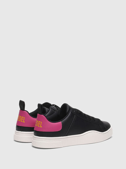 Diesel - S-CLEVER LOW LACE W, Negro/Rosa - Sneakers - Image 3
