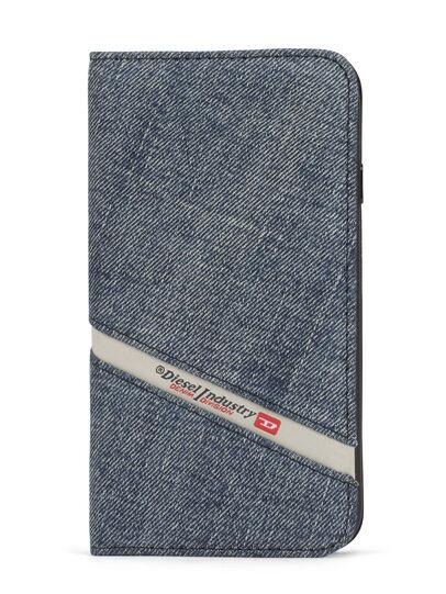 Diesel - DENIM IPHONE 8 PLUS/7 PLUS FOLIO, Blue Jeans - Fundas tipo libro - Image 1