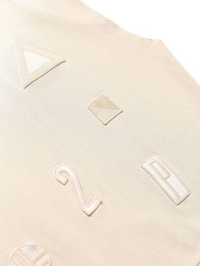Diesel - GR02-T303, Blanco - Camisetas - Image 4
