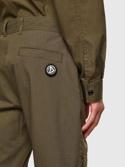 Diesel - P-SIDE, Verde Militar - Pantalones - Image 4