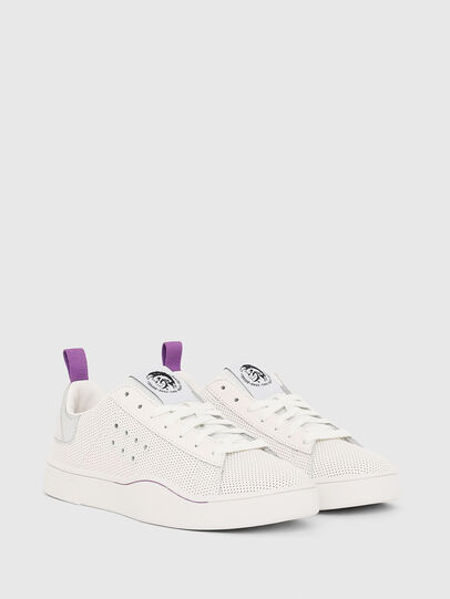 Diesel - S-CLEVER LC W, Blanco/Rosa - Sneakers - Image 2
