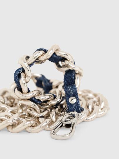Diesel - B-CHAIN, Dorado/Azul marino - Cinturones - Image 2