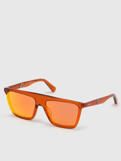 Diesel - DL0323, Naranja - Gafas de sol - Image 2