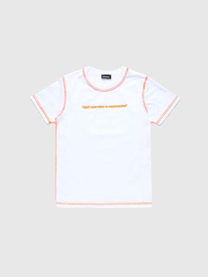 Diesel - TJUSEAM, Blanco - Camisetas y Tops - Image 1