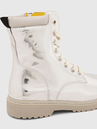 Diesel - HB LACE UP 04 CH, Plata - Calzado - Image 5