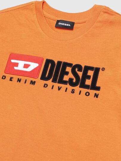 Diesel - TJUSTDIVISION, Naranja - Camisetas y Tops - Image 2