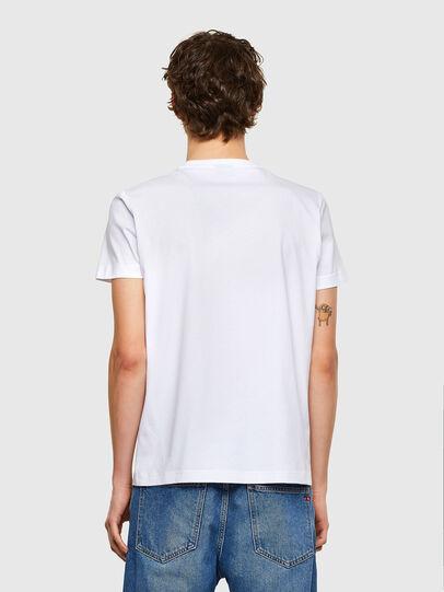 Diesel - T-DIEGOS-E35, Blanco - Camisetas - Image 2