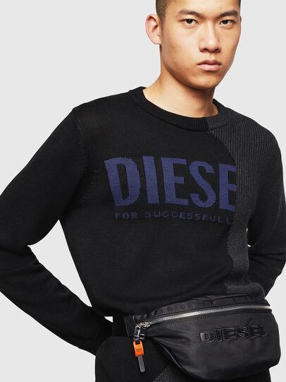 Diesel - FELTRE, Negro - Bolsas con cinturón - Image 6