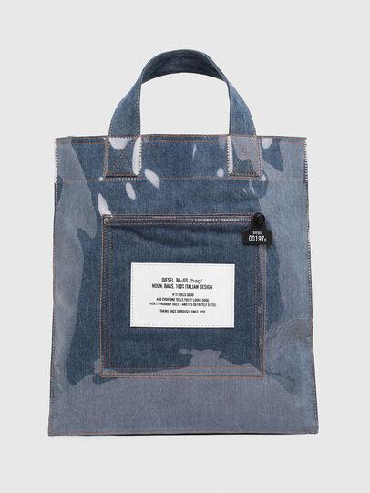 Diesel - F-THISBAG SHOWEI, Blue Jeans - Bolsos Shopper y Al Hombro - Image 1