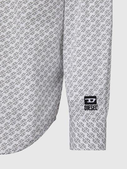 Diesel - S-RILEY-KA, Blanco - Camisas - Image 3