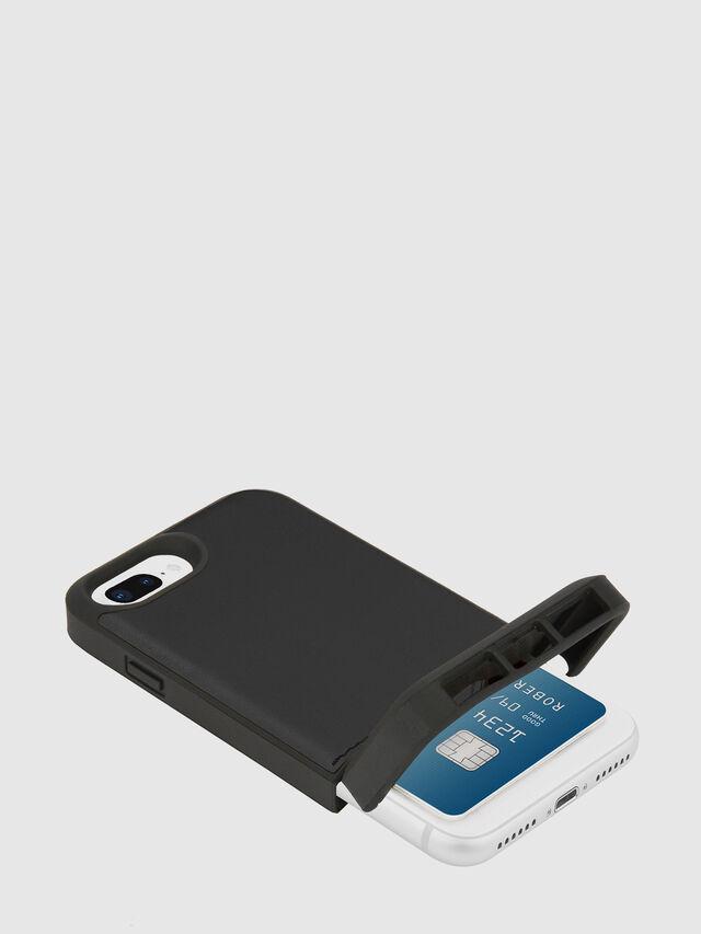 Diesel - CREDIT CARD IPHONE 8 PLUS/7 PLUS/6S PLUS/6 PLUS CASE, Negro - Fundas - Image 2