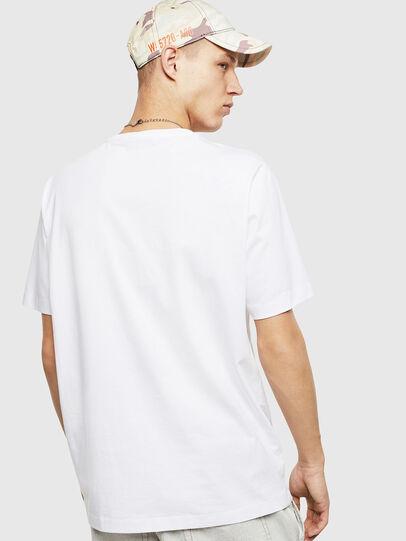 Diesel - T-JUST-POCKET-T17, Blanco - Camisetas - Image 2