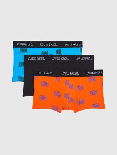 Diesel - UMBX-DAMIENTHREEPACK, Naranja/Negro - Boxers - Image 1