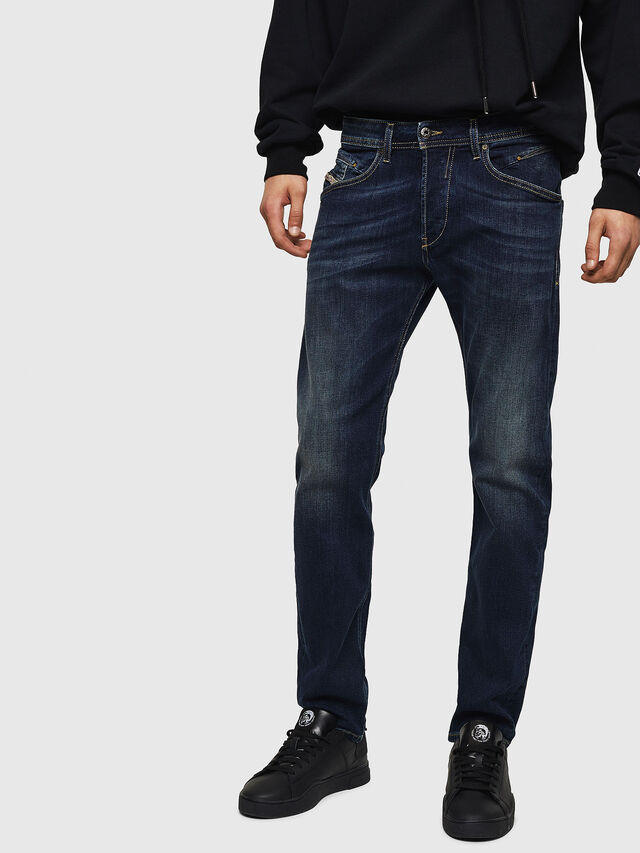 Diesel - Belther 0814W, Azul Oscuro - Vaqueros - Image 1