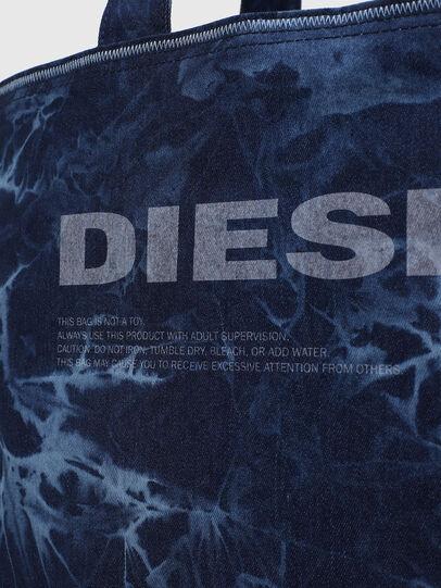 Diesel - D-THISBAG SHOP M, Azul - Bolsos Shopper y Al Hombro - Image 5