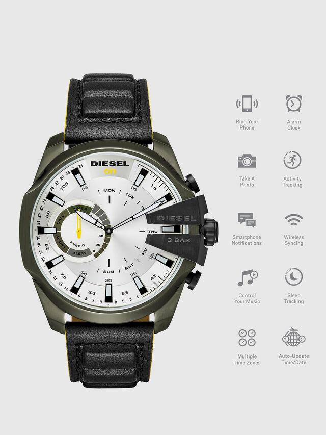 Diesel - DT1012, Negro - Smartwatches - Image 1