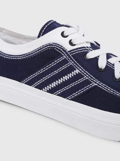 Diesel - S-ASTICO LOW LACE, Azul/Blanco - Sneakers - Image 4