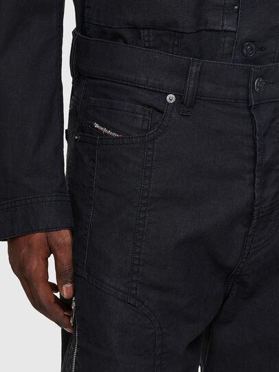 Diesel - D-VIDER JoggJeans® 0DDAX, Negro/Gris oscuro - Vaqueros - Image 4