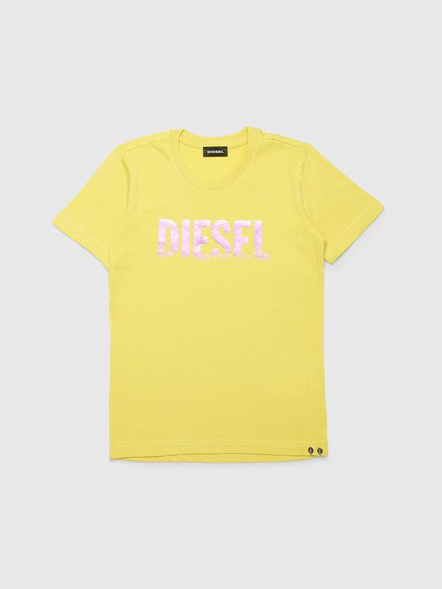 TSILYWH, Amarillo - Camisetas y Tops