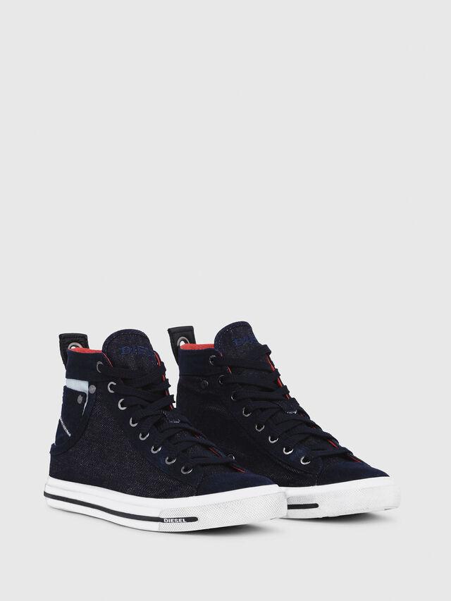 Diesel - EXPOSURE IV W, Azul Oscuro - Sneakers - Image 2