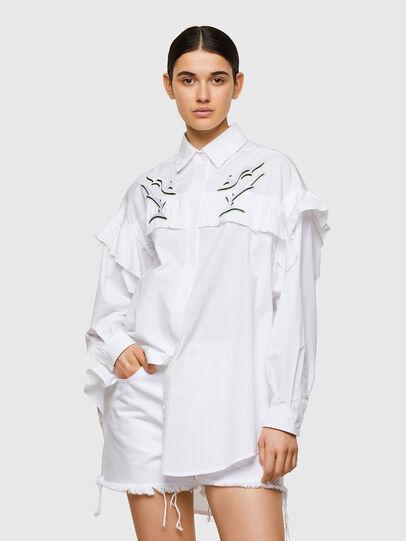 Diesel - C-JODI, Blanco - Camisas - Image 1