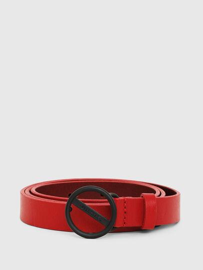 Diesel - B-BOUND, Rojo Fuego - Cinturones - Image 1
