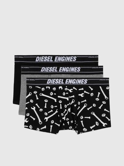 Diesel - UMBX-DAMIENTHREEPACK, Negro/Gris - Boxers - Image 1