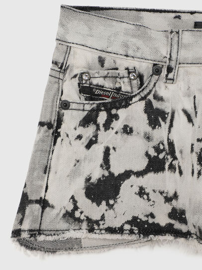 Diesel - PRIFTY, Blanco/Negro - Shorts - Image 3