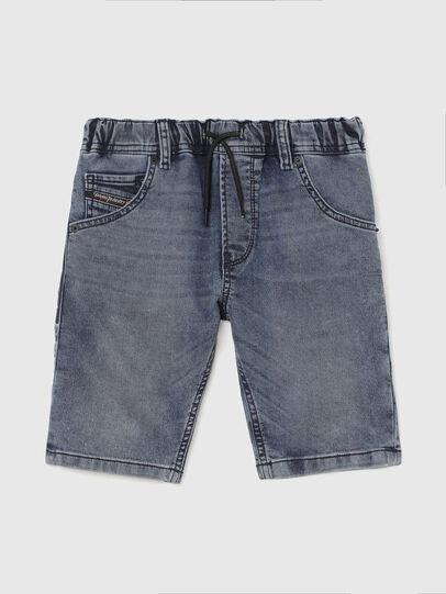 Diesel - KROOLEY-J SH JOGGJEANS, Azul medio - Shorts - Image 1