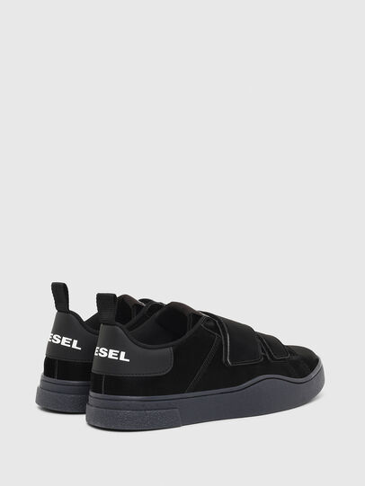 Diesel - S-CLEVER LOW STRAP W, Negro - Sneakers - Image 3