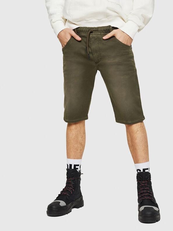 D-KROOSHORT JOGGJEANS, Verde Oscuro - Shorts