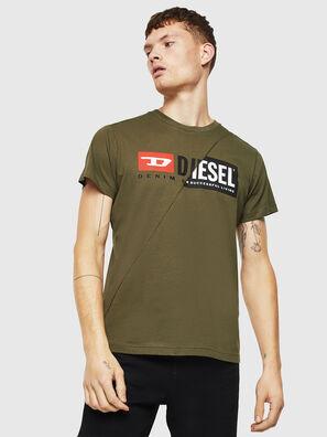 T-DIEGO-CUTY, Verde Militar - Camisetas