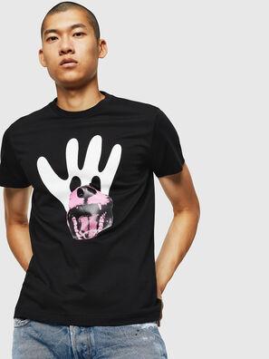 T-DIEGO-B18, Negro - Camisetas