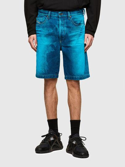 Diesel - D-MACS-SHORT-SP, Azul - Shorts - Image 1