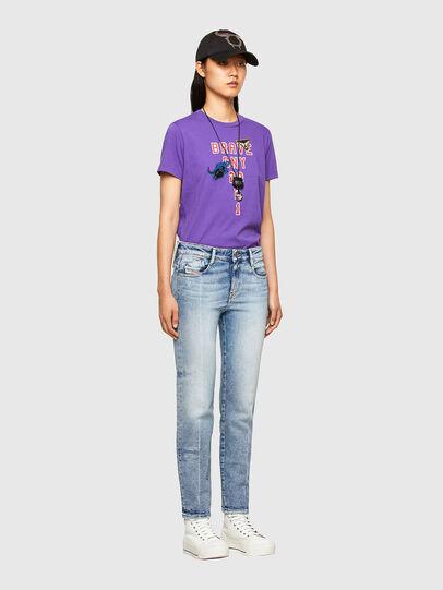 Diesel - CL-T-SILY-O, Violeta - Camisetas - Image 5