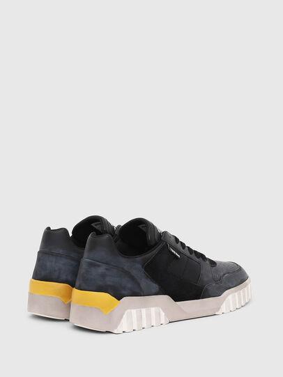 Diesel - S-RUA LOW90, Azul/Negro - Sneakers - Image 3