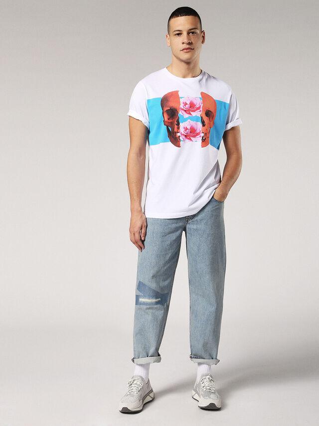 Diesel - T-JUST-SW, Blanco - Camisetas - Image 4