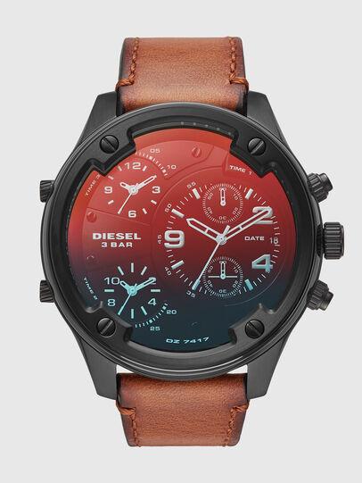 Diesel - DZ7417, Marrón/Negro - Relojes - Image 1