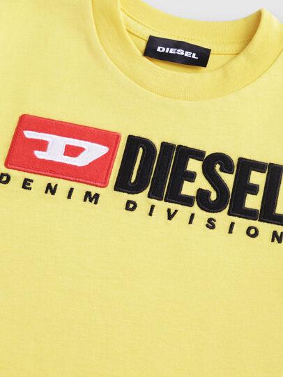 Diesel - TJUSTDIVISIONB-R, Amarillo - Camisetas y Tops - Image 3