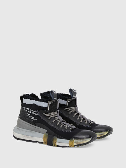 Diesel - H-PADOLA GL, Negro - Sneakers - Image 2