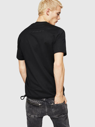 Diesel - T-ALEKSEY, Negro - Camisetas - Image 2