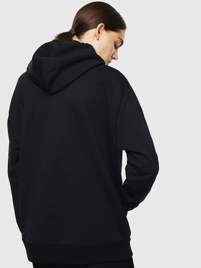 Diesel - S-AFTER, Negro - Sudaderas - Image 4