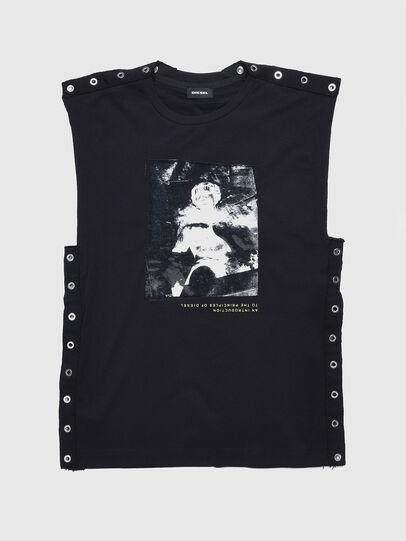 Diesel - TDESY, Negro - Camisetas y Tops - Image 1