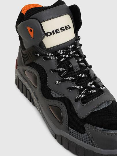 Diesel - S-RUA SP, Gris oscuro - Sneakers - Image 5