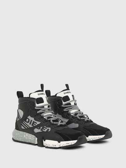Diesel - S-PADOLA MID TREK, Negro/Gris - Sneakers - Image 2